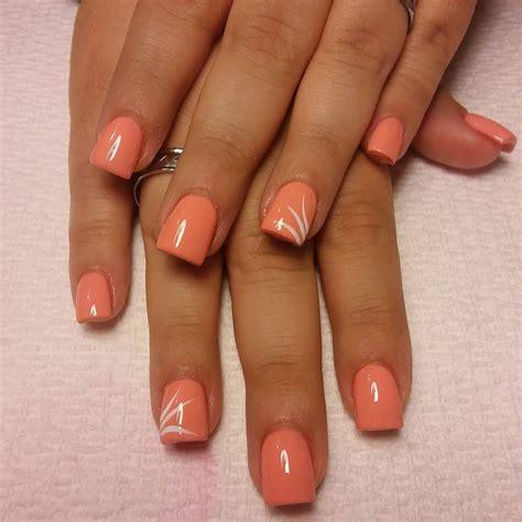 peach nail art designs ideas design trends