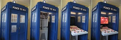 Tardis Shed For Sale by 11 Functional Tardises Mental Floss