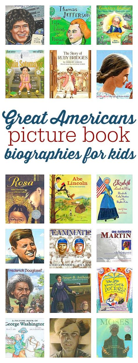 biography books for students we the people for kids classroom and pictures