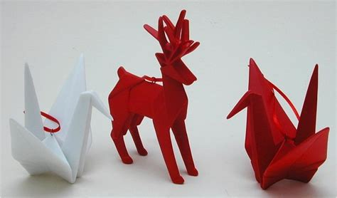 origami christmas ornaments enjoy the beauty of origami in a