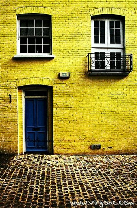 25 best ideas about yellow brick houses on yellow home office paint wood floating