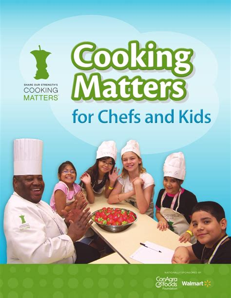 Does A Chefs Size Matter by Cooking Matters For Chefs And