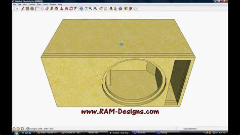 ram design ram designs dc audio level 3 15 quot ported box design