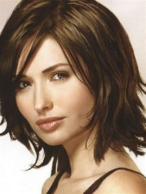 and medium haircuts for thick hair medium length hairstyles thick hair