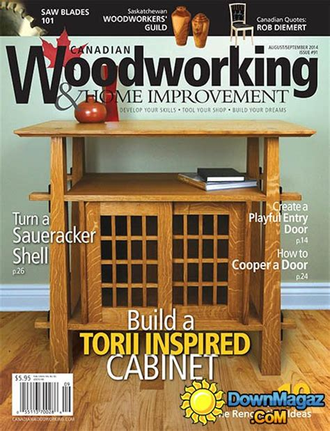 canadian woodworking home improvement 91 august