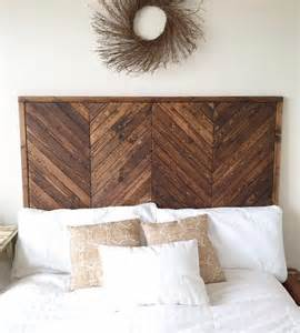 how to make a headboard out of wood 17 best ideas about herringbone headboard on