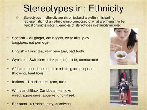 representation and stereotypes