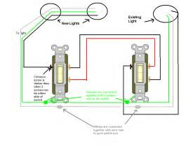 way switch wiring diagram on 2 pole light get free image