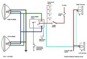 simple headlight wiring diagram simple get free image about wiring diagram