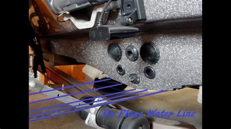 install drain plug fiberglass boat tips n tricks 149 understanding transducer installation