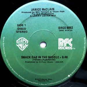 smack dab in the middle of nowhere a post apocalyptic comedy novel books janice mcclain smack dab in the middle at discogs