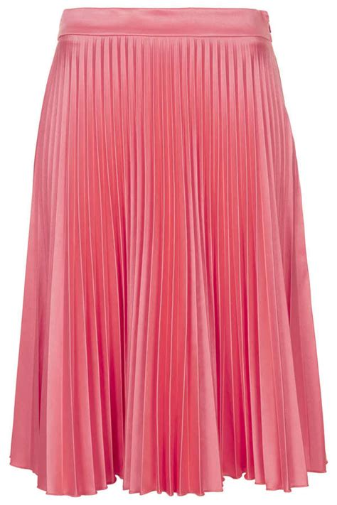 topshop pink sunray pleat skirt where to buy how to wear