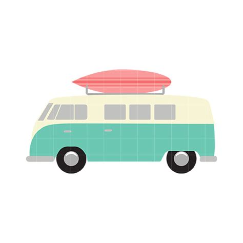 volkswagen van with surfboard clipart surf board clipart cliparts co