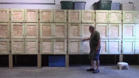 how to build garage cabinets from scratch 19 building garage cabinets part 1 of 2 youtube