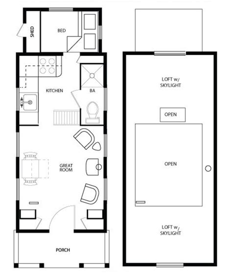 Tony House Floor Plan by Meet Shafer And His Tiny House Plans Eye On Design