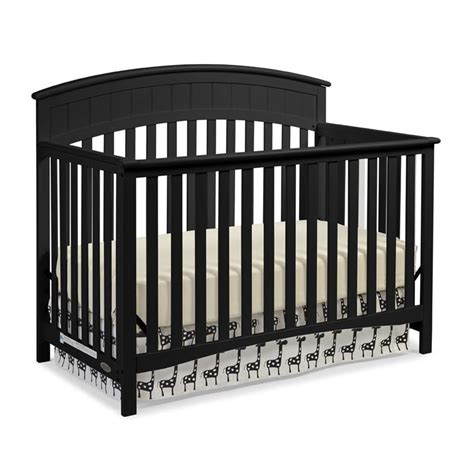 Graco Charleston Convertible Crib Graco Charleston 4 In 1 Convertible Crib In Black 04540 53b