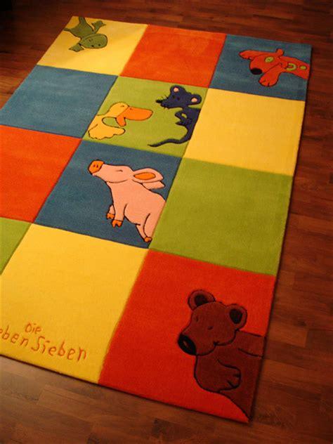 die lieben sieben teppich die lieben sieben teppich 2197 01 150x220 pl 252 schtiere ebay