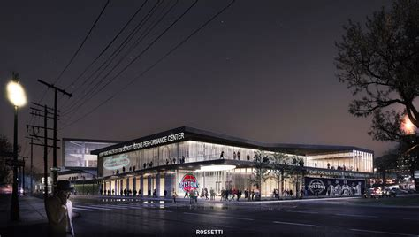 Henry Ford Center by Detroit Pistons And Henry Ford Health System Announce