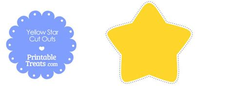 printable yellow stars to cut out free worksheets 187 printable stars free math worksheets