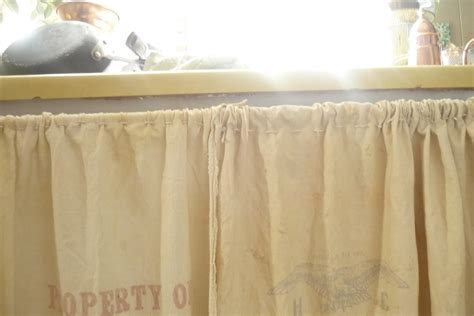 Grain Sack Curtains Feed Sack Curtains Morning By Morning Productions Pantry Quot Feed Sack Quot Curtains Morning
