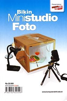 Buku 55 Kreasi Populer Menghias Foto Digital Dengan Efek Photoshop motret produk pakai buku mini 187 bennychandra