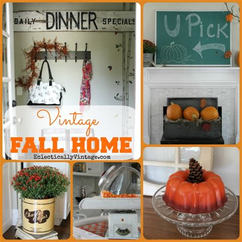 Fall Home Decorating Ideas by Vintage Fall Home Tour Creative Fall Decorating Ideas