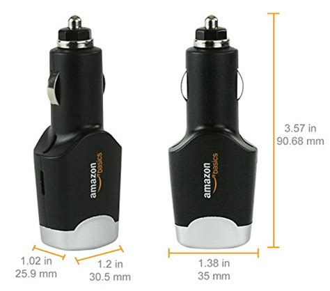 Chargeur Allume Cigare Amazonbasics by Amazonbasics Chargeur Allume Cigare Usb Drivya Fr