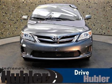 how cars run 2011 toyota corolla transmission control purchase used 2011 toyota corolla le in 8435 us 31 s indianapolis indiana united states for