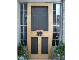 screen doors rustic lighting and decor for cottage cabin or lodge