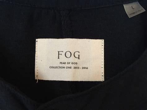 kaos fear of god longsleeve fog fear of god fog longsleeve ds condition new and never