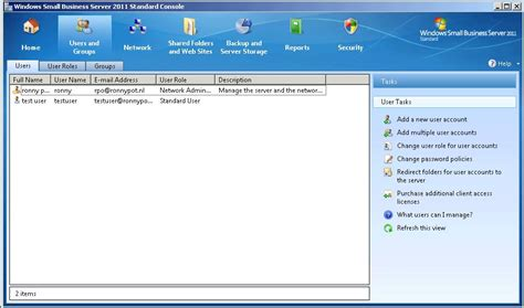 windows small business server 2011 installation and