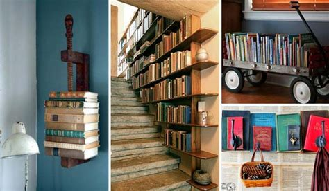 how to decor your home decorate with books
