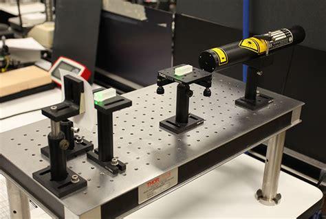 optical test bench optics capabilities