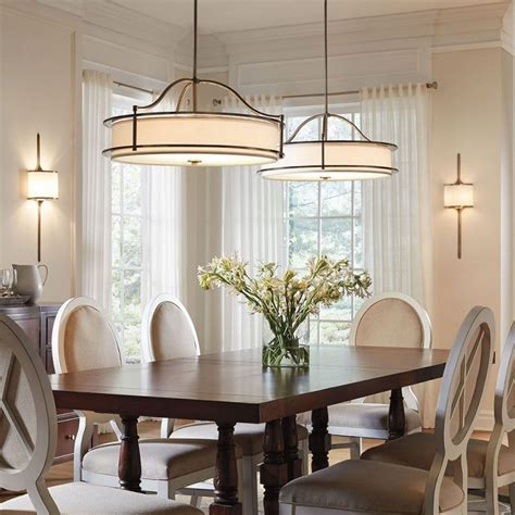 decoration breakfast table lighting dining room