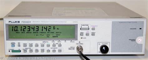 atomic clock integrated circuit fluke pm 6685r 676 2 7 ghz universal frequency counter calibrator with rubidium atomic clock