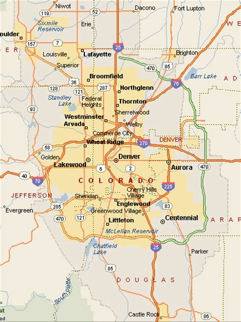 map of denver colorado world visits denver colorado travel guide