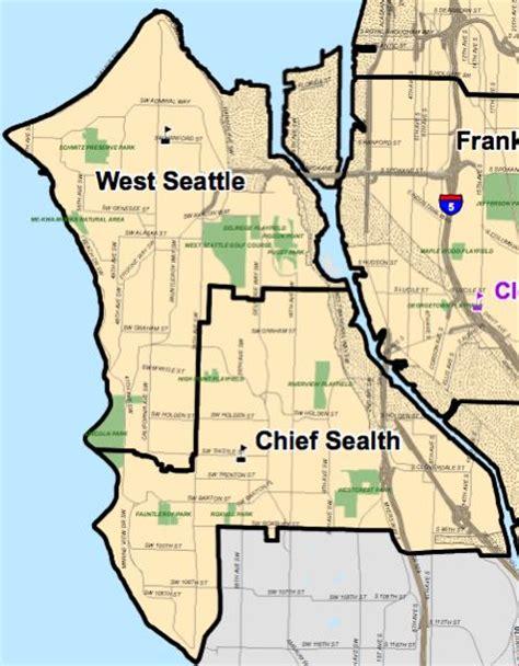 seattle neighborhood map pdf west seattle map adriftskateshop