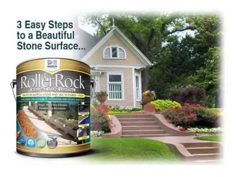 coating concrete  rollerrock step  step youtube