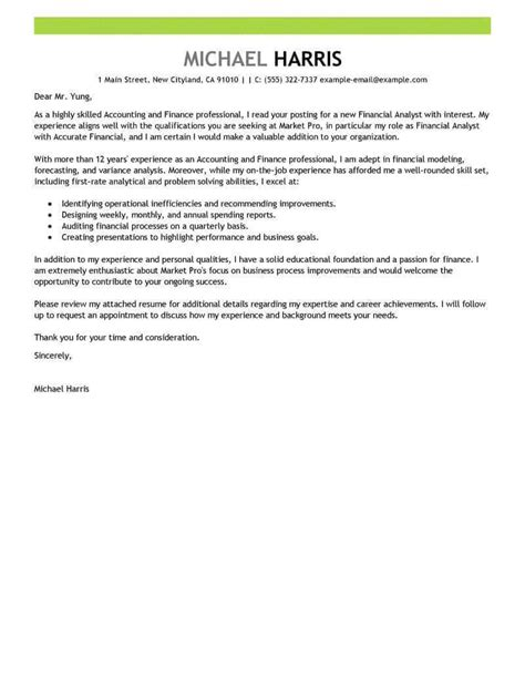 free cover letter exles for every search livecareer