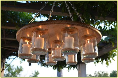 outdoor candle chandelier non electric home lighting