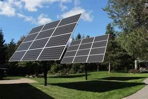 backyard solar panels why mt solar pole mounted solar panels made sense