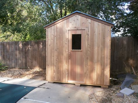 backyard sauna peterson sauna custom outdoor saunas