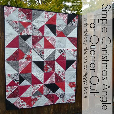 Easy Quilt Patterns Using Quarters by Pieces By Polly Simple Quarter Quilt Free