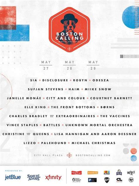 Heres Boston Callings Spring 2016 Lineup | boston calling spring 2016 lineup announced