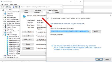 netlink tutorial broadcom netlink tm gigabit ethernet windows 10 driver
