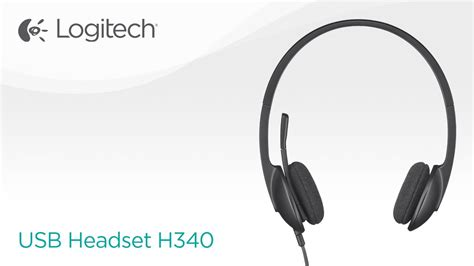 Logitech Usb Headset H340 stereo usb headset with microphone h340 logitech
