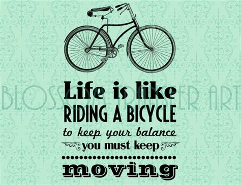 printable transfer quotes typography bicycles quotes digital images download