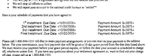 Chase Sle Debt Settlement Offer Letter Leave Debt Behind Get Out Of Debt Free Template Letters