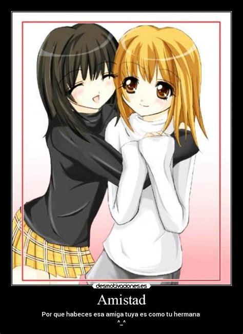 imagenes anime de amistad amistad desmotivaciones