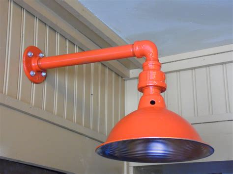 Colorful Light Fixtures Custom Colored Light Fixture Sconce Barn Light Industrial